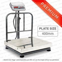 400 x 400mm SS Platform Scale 6v. Premium
